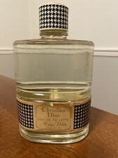 Huge Factice Bottle Christian Dior Eau De Toilette Miss Dior Paris Vintage 32Oz