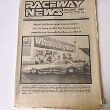Raceway News Magazine Records Fall At Budweiser July 19, 1987 052117nonrh