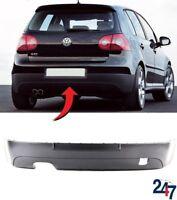 NEW VW GOLF GTI 2003 - 2008 REAR BUMPER BLACK LOWER SPOILER TRIM