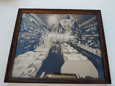 VTG HARDWARE STORE PHOTOGRAPH CIGARS GLASSWARE KITCHEN ITEMS DETAILED INTERIOR