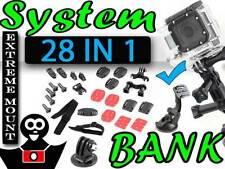 Assortiment de supports XXL 27in1 pour GoPro HERO 3 2 + ventouse + adaptateur