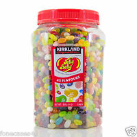 New & Sealed Jelly Belly Beans Whole Jar 1.8kg 45 Flavours Listed 1st Class Pos