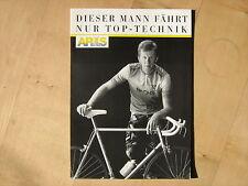 Rennrad Antrieb Fahrrad Prospekt sachs Schweinfurt Aris Technik Walter Röhrl gut