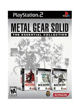 Metal Gear Solid The Essential Collection PlayStation 2 BRAND NEW SEALED