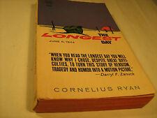 Paperback THE LONGEST DAY Cornelius Ryan 1962 [Y38]