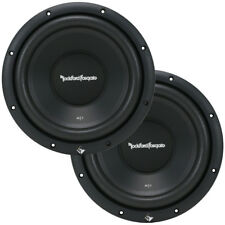 "2 Rockford Fosgate R1S412 Car Audio PRIME 12"" Subwoofers R1S4-12 Subs 600W New"