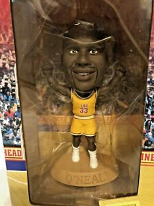 """Shaquille O'neal 1999 Headliners XL 6"""" Limited Edition LSU Figure New In Box"""