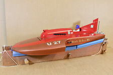 RADIO CONTROLLED HYDROPLANE SAYRES SPIRIT of  SLO MO WORLD RECORD SPEED BOAT ni