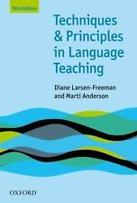New-Techniques and Principles in Language Teaching by Freeman 3ed