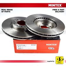 2X MINTEX FRONT DISC BRAKES MDC2607 PEUGEOT 308 II 1.2 1.6 1.5 2.0 SW 1.6 HDi SW