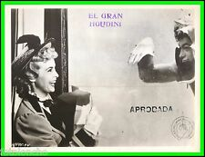"""JANET LEIGH & TONY CURTIS in """"Houdini"""" Original Vintage Photograph 1953"""