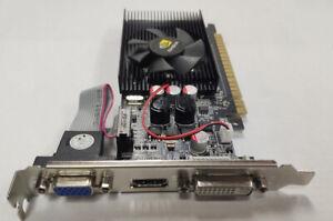 Grafikkarte für Videospiele NVIDIA GeForce GT730 2 GB DDR3 DVI VGA HDMI PCI-E