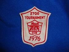 Vintage 1976 Mac Club Tournament Patch