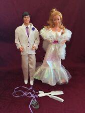 1983 Crystal Barbie #4598 & Crystal Ken #4898 SuperStar Era Set