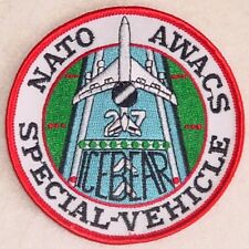 Aufnäher Patch NATO AWACS E-3A SPECIAL - VEHICLE ...........A2277