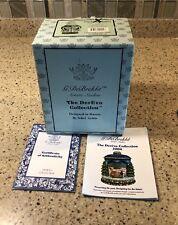 BOX + COA ONLY G Debrekht Purrfect Santa Ltd. Ed. #160/750 No Figurine