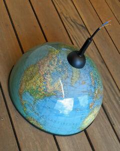 Deckenlampe Globus upcycling Lampe Vintage