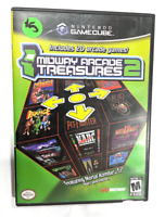 Midway Arcade Treasures 2 NINTENDO GAMECUBE GAME COMPLETE CIB Tested + WORKING!