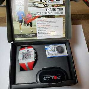 POLAR FT7 RED SIL FITNESS WATCH w/ HEART RATE MONITOR 90039172 NA1/APAC1