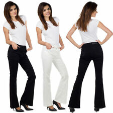 Cotton Blend Coloured Mid Rise Jeans for Women