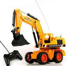 Rc Excavator Multi-function Radio Remote Control Truck Kids Sandy beach Toys