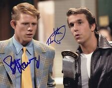 HENRY WINKLER & RON HOWARD Autographed Signed HAPPY DAYS Photograph - To John