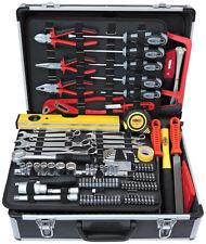 FAMEX 745-49 Werkzeugkoffer mit Werkzeug Werkzeug Koffer Werkzeug Set Komplett