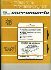 (125) REVUE TECHNIQUE CARROSSERIE FORD CONSUL et GRANADA