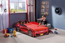 Autobett CILEK Spider-Mini rot mit Matratze Kinderbett Spielbett TUV GS 70x130