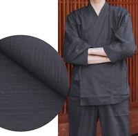 Japanisch Samue Herren Traditionell Arbeitskleidung Kimono Leinen Set Von Japan