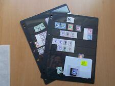 More details for snark island - collection of mint gerald m king cinderella stamps / labels.