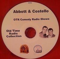 Abbott & Costello Comedy 104 Old Time Radio Shows OTR MP3 CD