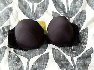 Black strapless balconette push up bra size 34C either la senza or M&S 💕