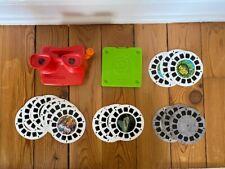 Viewmaster - Red With Orange Handle - 15 reels