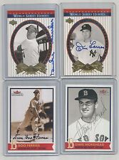 2001 red sox 100th ANNIVERSARY AUTO/signed DAVE MOREHEAD #68-set FENWAY + 2016