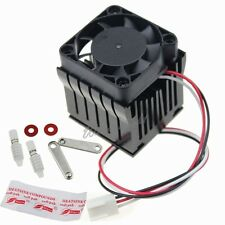 Aluminium Adjustable Heatsink Fin Fan Cooler For PC Northbridge Chipset Cooling