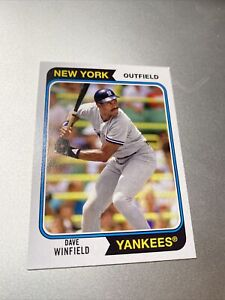 2020 TOPPS ARCHIVES DAVE WINFIELD #166 NEW YORK YANKEES
