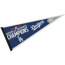 """Los Angeles Dodgers Full Size 12"""" X 30"""" 2020 World Series Champions Pennant"""