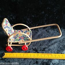alter Korb Puppenwagen,Sportwagen für die Puppenstube,Puppenhaus