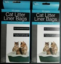 cat litter box liner bags lot of 20 liner bags
