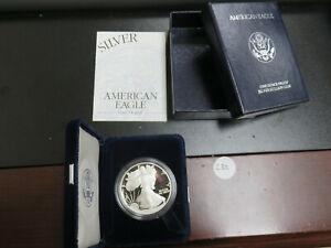 1995-P Proof Silver Eagle in Box w/COA