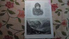 1877 Stich 3 / Aghanistan Khyber-Pass Emir Sheer Ali Khan 2