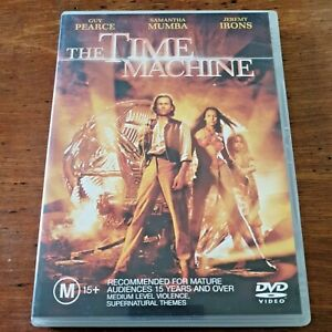 The Time Machine DVD R4 VERY GOOD - FREE POST