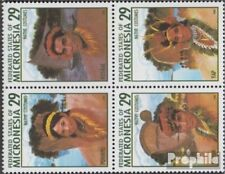 Mikronesien 356-359 block of four (complete.issue.) unmounted mint / never hinge