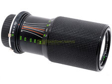 Minolta MC-MD zoom Zykkor MC 80/205mm. f4,5 macro. Utilizzabile su digitali.