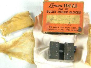 Vintage LYMAN IDEAL Bullet Mould Block Mold no. 452 423 .45 CAL AUTO 452423 NOS!