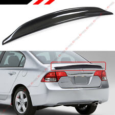 FOR 2006-11 HONDA CIVIC 4DR SEDAN FA FA5 CARBON FIBER DUCKBILL TRUNK LID SPOILER