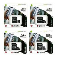 Kingston Micro SD Card 16GB 32GB 64GB 128GB TF Class 10 for Smartphones Tablets
