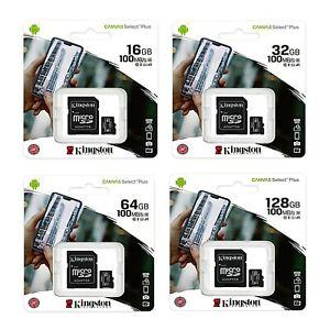 Kingston Micro SD Card 16GB 32GB 64GB 128GB Pro Ultra Memory Cards Wholesale lot