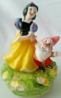Schmid Disney Snow White and dwarf Music Box Some Day My Prince Will Come Japan
